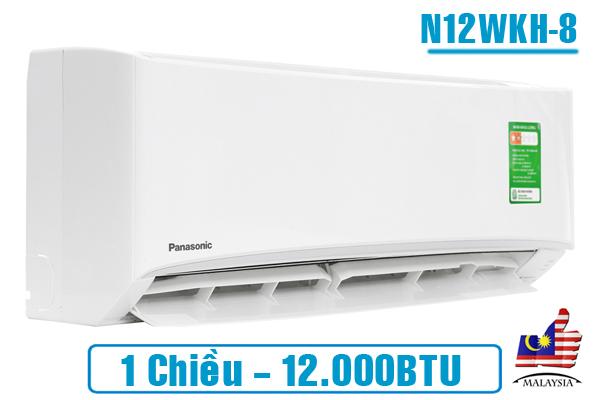 Panasonic CU/CS-N12WKH-8 12000 BTU 1 chiều,Panasonic,Máy lạnh Panasonic 12000 BTU 1 chiều