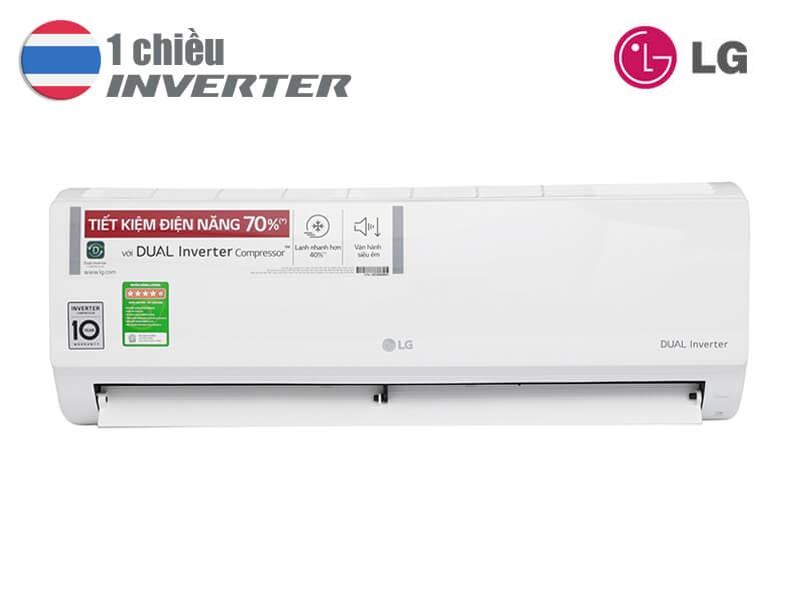 LG 12000BTU 1 chiều inverter V13ENS,Điều hòa LG 12000BTU 1 chiều,V13ENS