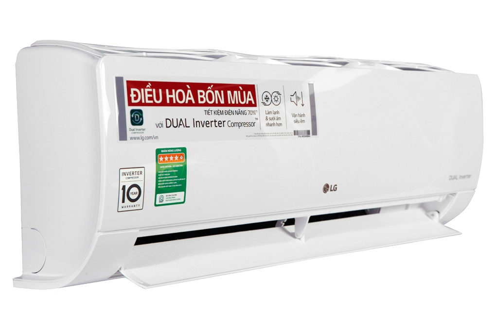 LG 18000BTU 2 chiều inverter B18END,Điều hòa LG 18000BTU 2 chiều,B18END
