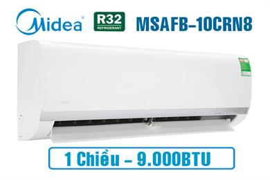 Máy Điều hoà Midea 9000BTU 1 chiều MSAFB-10CRN8,Máy lạnh midea 9000 BTU 1 chiều,MSAFB-10CRN8